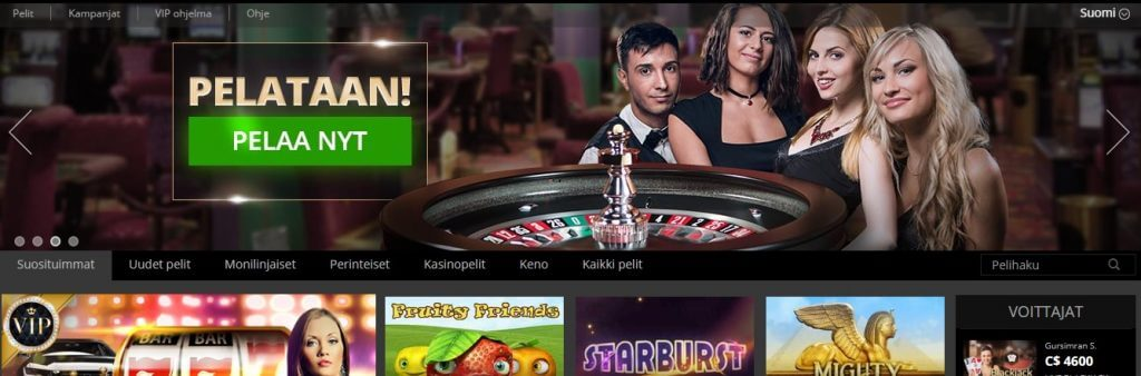 Hopa Casino pelit