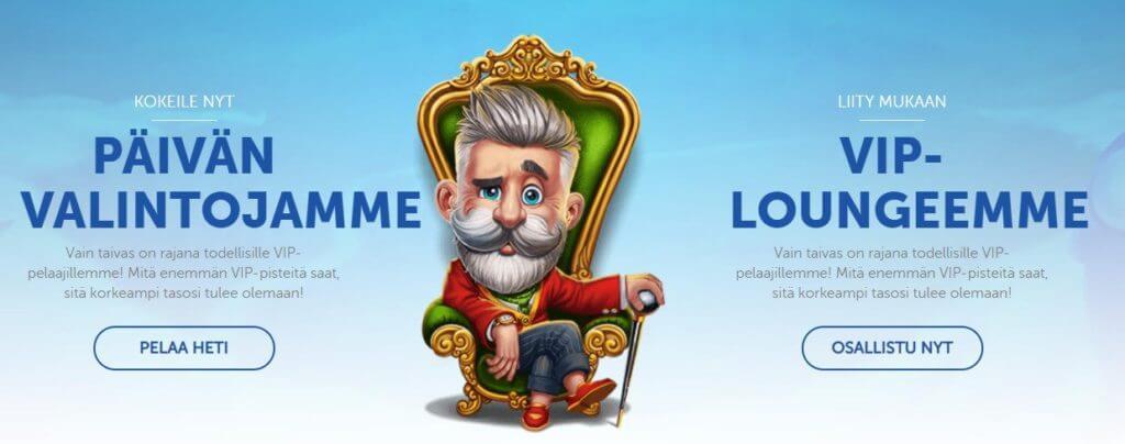 Lucky Louis Casino promootiot