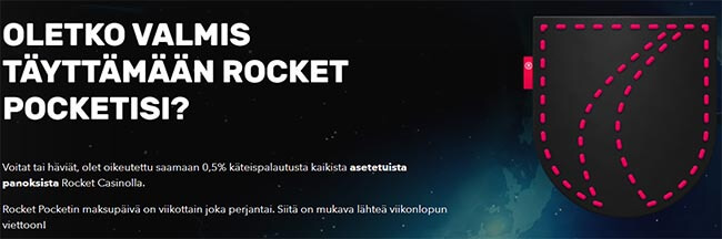 Bonus Rocket Casino