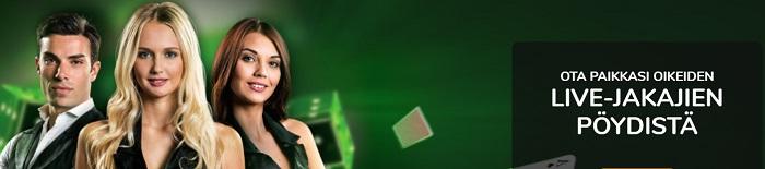 Playigo Live-kasinon Tarjonta